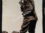 Atatürk Resimli Halı 50x70 cm