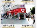 Sefaköy istanbulda Satılık Dükkan 120 M2 - Merkezi Yer- 2,600,000 TL-Kira Getirisi 12,000 TL ayda